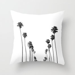 Palm Trees 8 Throw Pillow