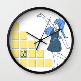 HACO chan Wall Clock