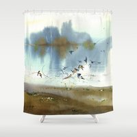 peace Shower Curtains featuring Peace by Ivanushka Tzepesh