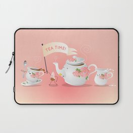 Let's All Go to the Parlour Laptop Sleeve