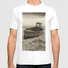 Beached Mens Fitted Tee White MEDIUM