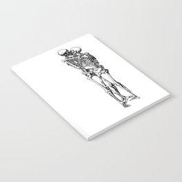 Kissing Skeleton Notebook