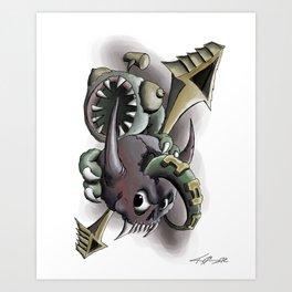 Doomsday Duo Art Print