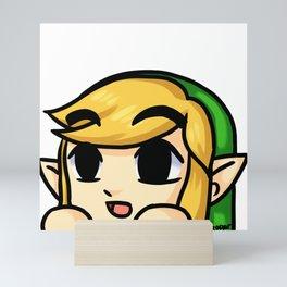 Link Lurk Mini Art Print