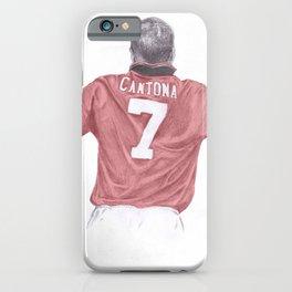 Eric Cantona iPhone Case