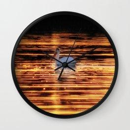 Sparkling Waters of Lake Osakis Wall Clock