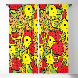 Monsters Blackout Curtain