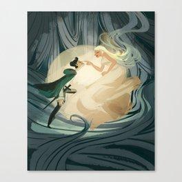 Lure Canvas Print