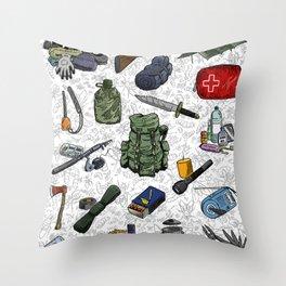 Prepper Throw Pillow