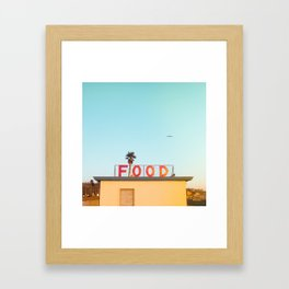 """FOOD"" Framed Art Print"