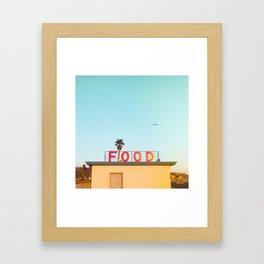 """FOOD"" Framed Art Print"