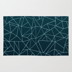 Ombre Ab Teal Rug