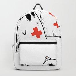 Ghost Nurse Backpack
