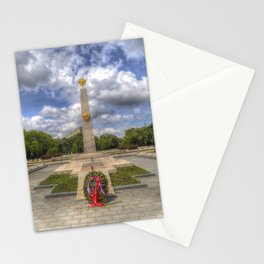 Russian War Memorial Budapest Stationery Cards