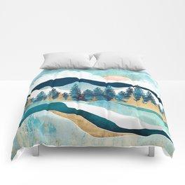 Summer Forest Comforters