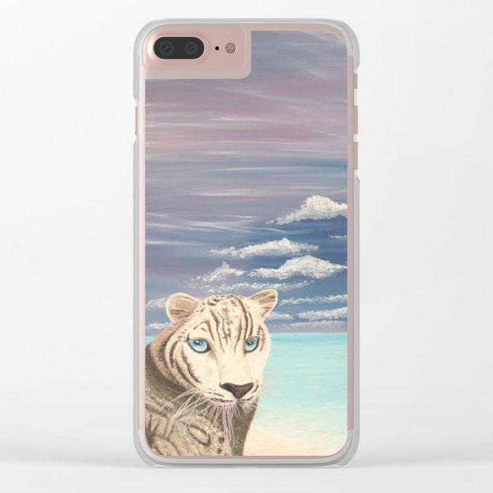 Un regard perçant d'amour Clear iPhone Case