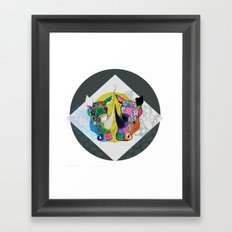 Rhino And RhInO Framed Art Print