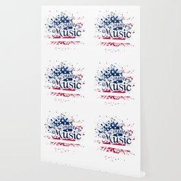 Fan Country Music American Flag Wallpaper