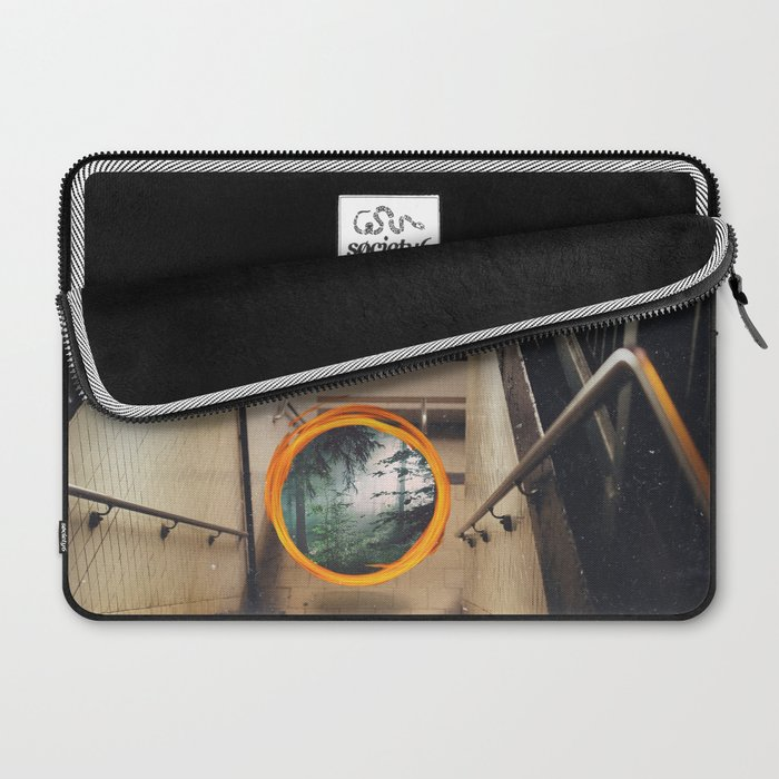 New York City Portal to the Forest Laptop Sleeve