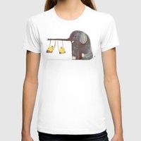 elephant T-shirts featuring Elephant Swing by Picomodi