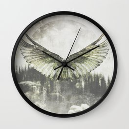 Wilderness in my heart Wall Clock