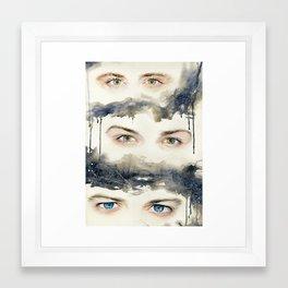 Supernatural Eye Portraits Framed Art Print
