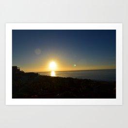 Sunrise at cabos Art Print
