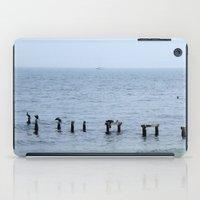 cape cod iPad Cases featuring Gull's Perch, Cape Cod by JezRebelle
