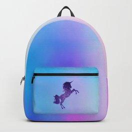 Purple Sparkly Unicorn Backpack