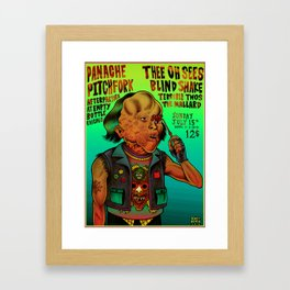 Poster Thee Oh Sees  Framed Art Print