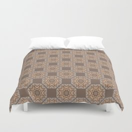 Beach Tiled Pattern Duvet Cover