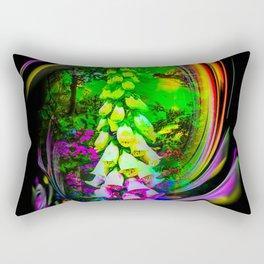 Flowermagic - Thimble Rectangular Pillow