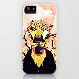 Golden sheep iPhone Case