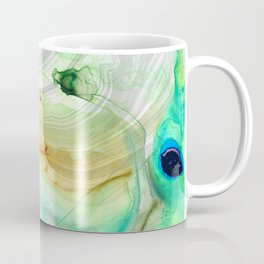 Modern Abstract Modern Art - Seeing Is Believing - Sharon Cummings Coffee Mug