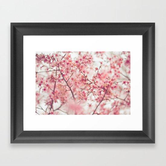Spring is here. Framed Art Print