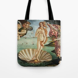 The Birth of Venus by Sandro Botticelli, 1445 Tote Bag