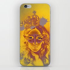 Queen Gold Mother Nature Pepe Psyche iPhone & iPod Skin