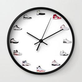 Air Jordan Series 1-12 Wall Clock