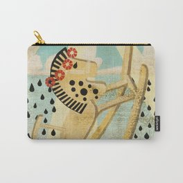 The Dance of the Rocking Horse Carry-All Pouch