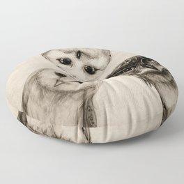 The Owl's 3 Floor Pillow