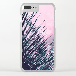 Summer Palms - Cali Vibes #1 #tropical #decor #art #society6 Clear iPhone Case