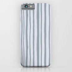 Into the Woods grey Stripes Slim Case iPhone 6s