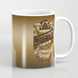 Judge Dredd Badge Coffee Mug