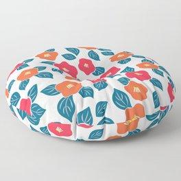 Camellia simplified Floor Pillow