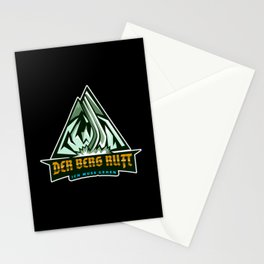 I must go - The mountain calls Stationery Cards