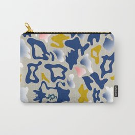 Leo Sea Peace Print by Anthea Missy Carry-All Pouch