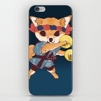 doge iPhone & iPod Skins featuring CHAPPA DOGE by f-premaur