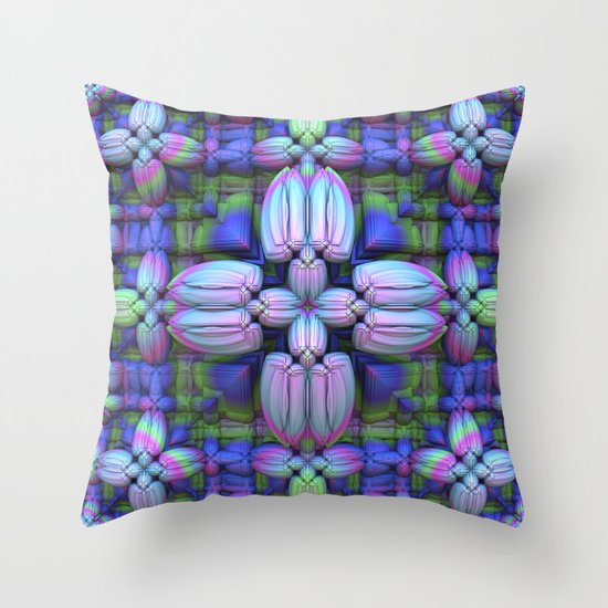 Sewing Without Thread Throw Pillow