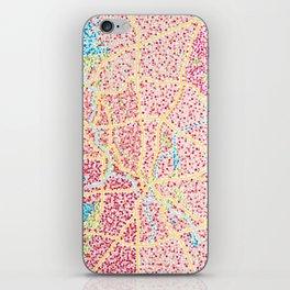 Dallas Map iPhone Skin