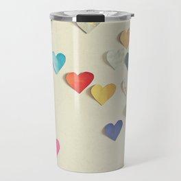 Paper Hearts Travel Mug